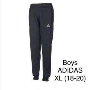 Big boys XL (18-20) ADIDAS black jogger sweatpant